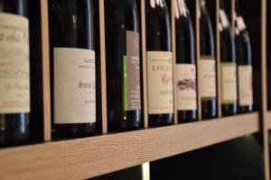 La Cave à vins à La Maison Moga