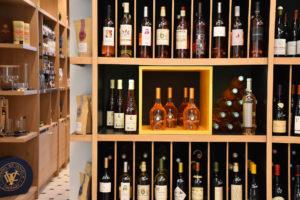 Cave à vin de la Maison Moga