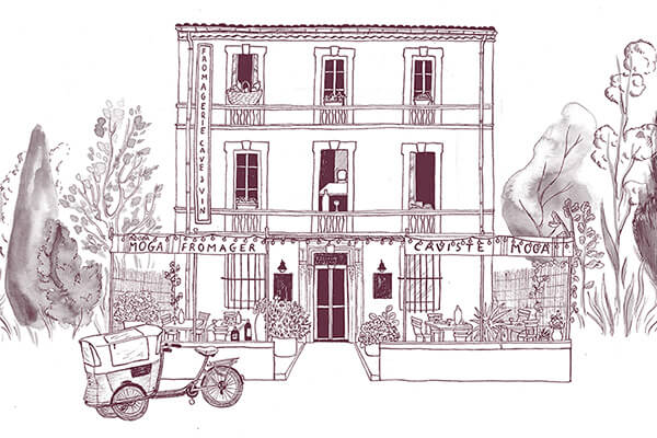 Maison Moga, Wine cellar and Cheese shop in l'Isle-sur-la-Sorgue